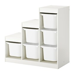 TROFAST - storage combination with boxes, white | IKEA Hong Kong and Macau - PE655692_S3