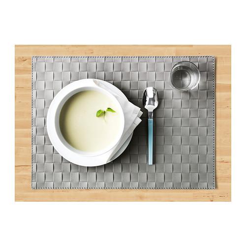 ORDENTLIG - 餐墊, 灰色   IKEA 香港及澳門 - PE384687_S4