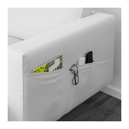 NORSBORG - 4-seat sofa, with chaise longues/Finnsta white/metal | IKEA Hong Kong and Macau - PE596235_S4