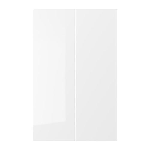 RINGHULT 2-p door f corner base cabinet set