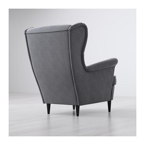 STRANDMON - 扶手椅, Nordvalla 深灰色 | IKEA 香港及澳門 - PE596292_S4