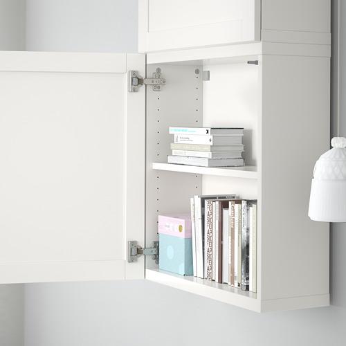 BESTÅ - 雙門吊櫃, 白色/Hanviken 白色 | IKEA 香港及澳門 - PE561353_S4