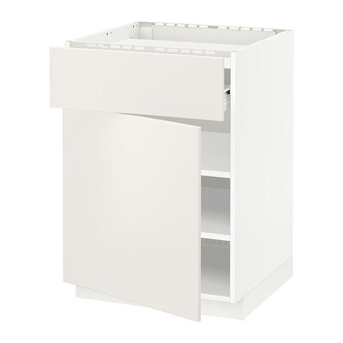 METOD - 爐具地櫃組合, 白色 Förvara/Veddinge 白色 | IKEA 香港及澳門 - PE656060_S4