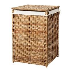 BRANÄS - laundry basket with lining, rattan | IKEA Hong Kong and Macau - PE305340_S3
