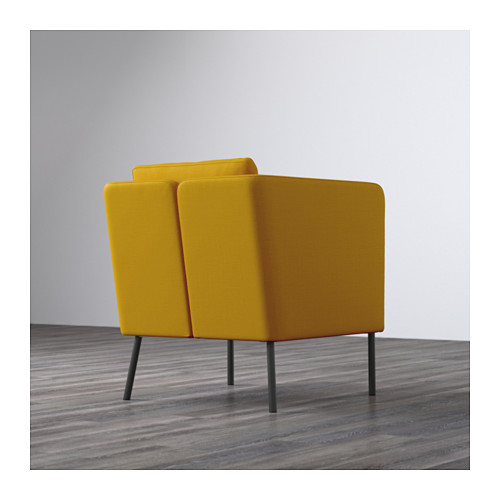EKERÖ - armchair, Skiftebo yellow | IKEA Hong Kong and Macau - PE596409_S4