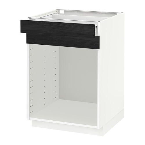 METOD base cabinet f steriliser/drawer