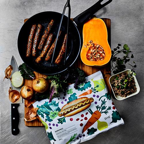 KORVMOJ - 素菜熱狗腸, 急凍 100% 蔬菜 | IKEA 香港及澳門 - PE744017_S4