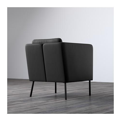 EKERÖ - armchair, Kimstad black | IKEA Hong Kong and Macau - PE596504_S4