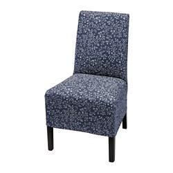 BERGMUND - chair w medium long cover, black/Ryrane dark blue | IKEA Hong Kong and Macau - PE779088_S3