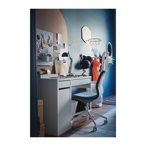 MICKE - 書檯, 105x50x75 cm, 白色 | IKEA 香港及澳門 - PH151482_S4