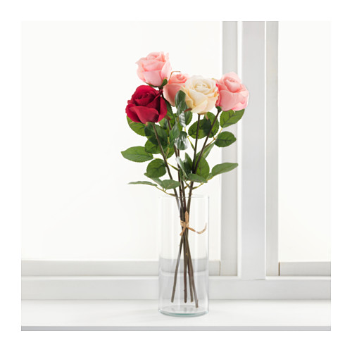 SMYCKA - artificial flower, Rose/pink | IKEA Hong Kong and Macau - PE596726_S4