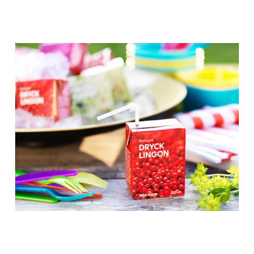 DRYCK LINGON - 紅果子果汁, 有機 | IKEA 香港及澳門 - PE596825_S4