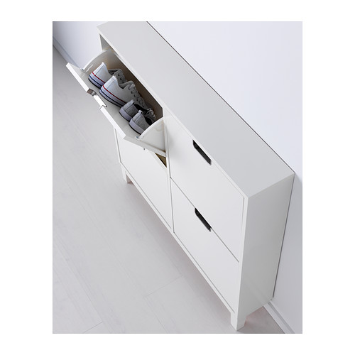 STÄLL - shoe cabinet with 4 compartments, white | IKEA Hong Kong and Macau - PE385713_S4