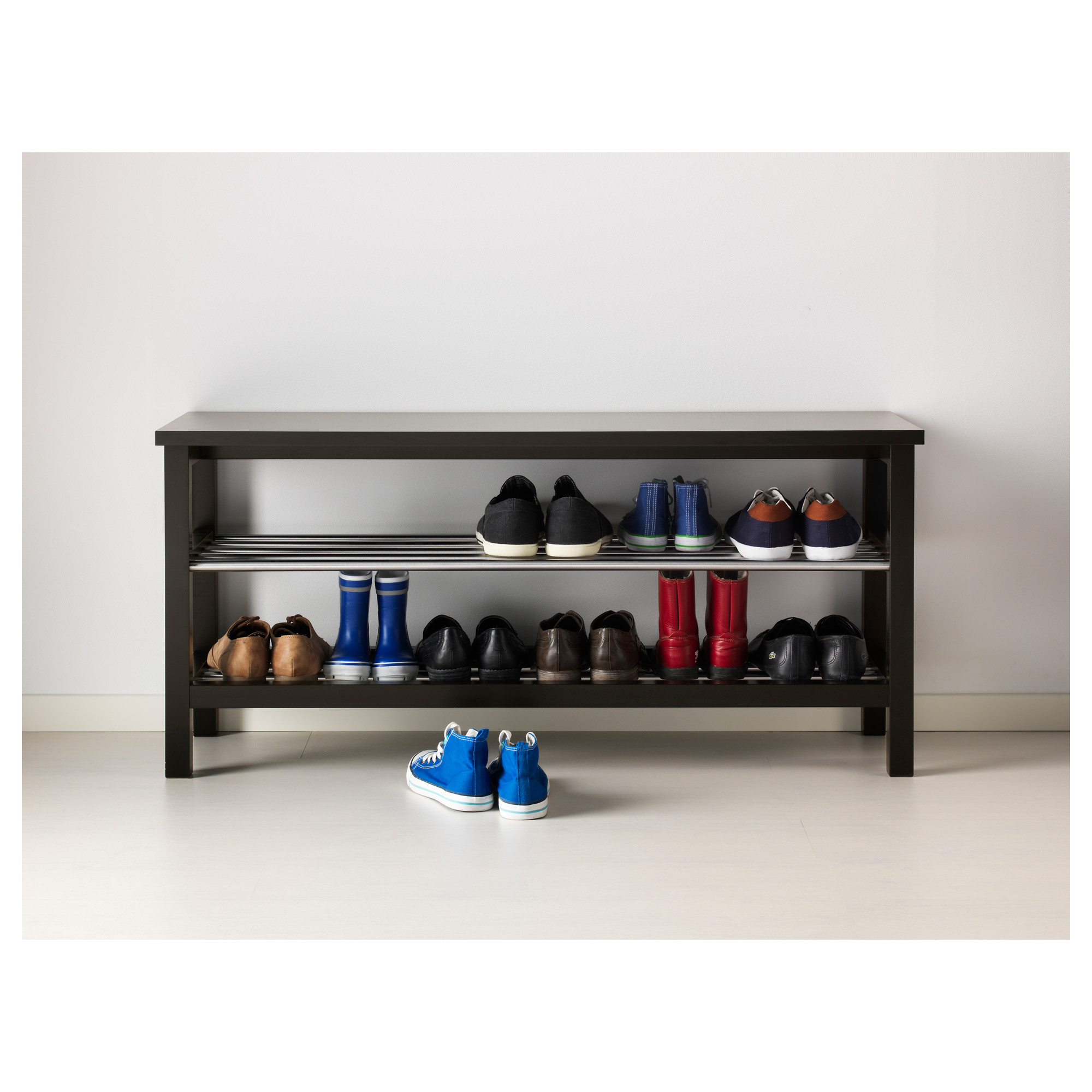 Astounding Tjusig Bench With Shoe Storage Black Ikea Hong Kong Ocoug Best Dining Table And Chair Ideas Images Ocougorg