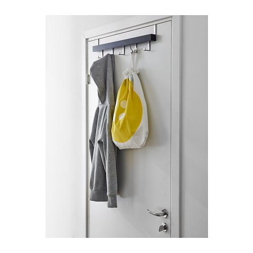 TJUSIG - hanger for door/wall, black | IKEA Hong Kong and Macau - PE385784_S4