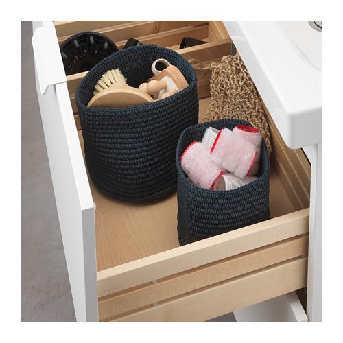 NORDRANA 貯物籃, 2件套裝
