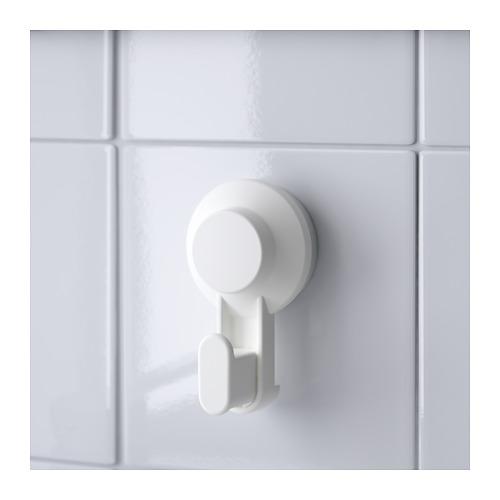 TISKEN - 吸盤掛鈎, 白色   IKEA 香港及澳門 - PE704368_S4