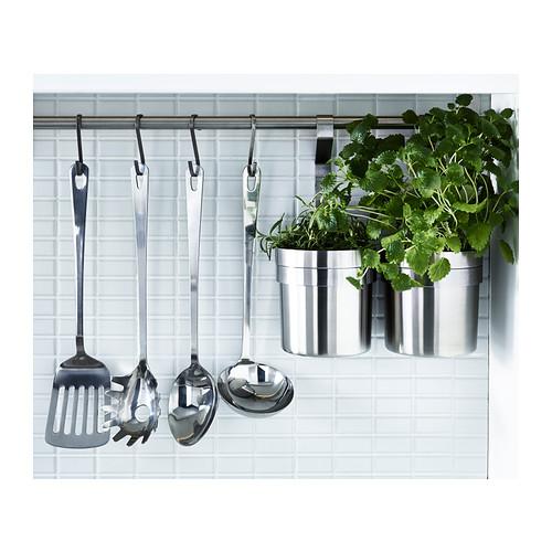 GRUNKA - 4-piece kitchen utensil set, stainless steel   IKEA Hong Kong and Macau - PE385919_S4
