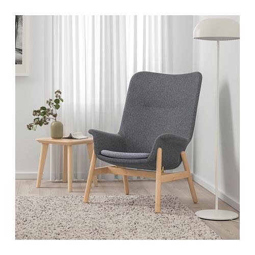 VEDBO - high-back armchair, Gunnared dark grey | IKEA Hong Kong and Macau - PE704423_S4