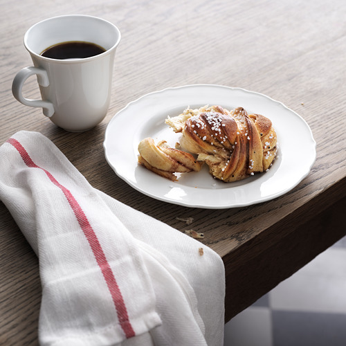 UPPLAGA - 餐用小碟, 白色, 22 厘米   IKEA 香港及澳門 - PE744410_S4