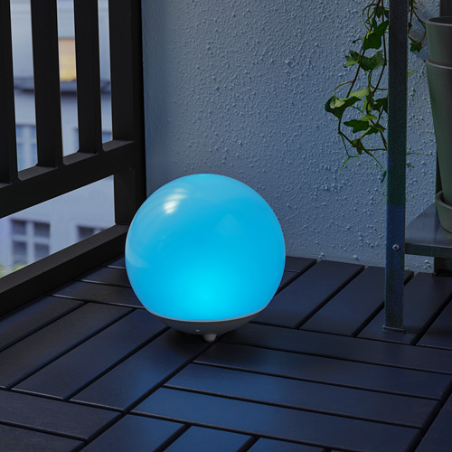 SOLVINDEN - 太陽能LED裝飾燈, 戶外/球形 白色 | IKEA 香港及澳門 - PE798441_S4