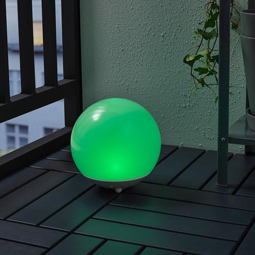 SOLVINDEN - 太陽能LED裝飾燈, 戶外/球形 白色 | IKEA 香港及澳門 - PE798443_S4