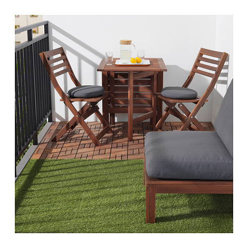 RUNNEN - floor decking, outdoor, brown stained | IKEA Hong Kong and Macau - PE656499_S4