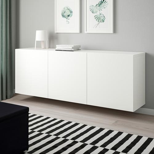 BESTÅ - 上牆式貯物組合, white/Lappviken white   IKEA 香港及澳門 - PE744507_S4