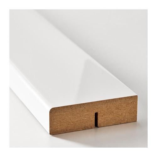 FÖRBÄTTRA - rounded deco strip/moulding, high-gloss white | IKEA Hong Kong and Macau - PE597259_S4