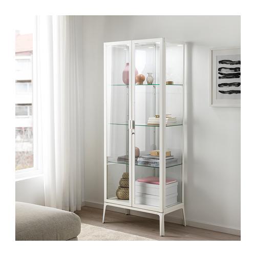 MILSBO - glass-door cabinet, white | IKEA Hong Kong and Macau - PE704496_S4