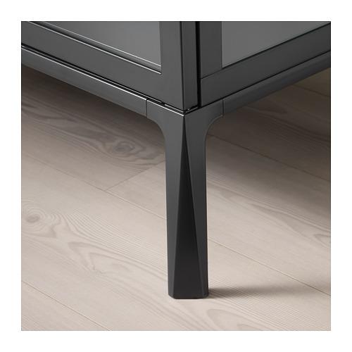 MILSBO - glass-door cabinet, anthracite | IKEA Hong Kong and Macau - PE704498_S4