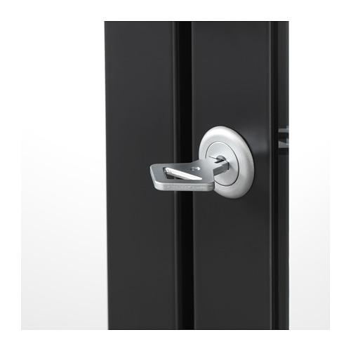 MILSBO - glass-door cabinet, anthracite | IKEA Hong Kong and Macau - PE704500_S4