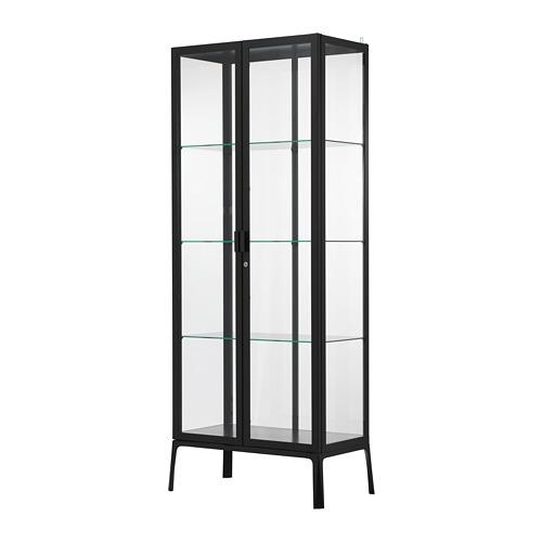 MILSBO - glass-door cabinet, anthracite | IKEA Hong Kong and Macau - PE704497_S4