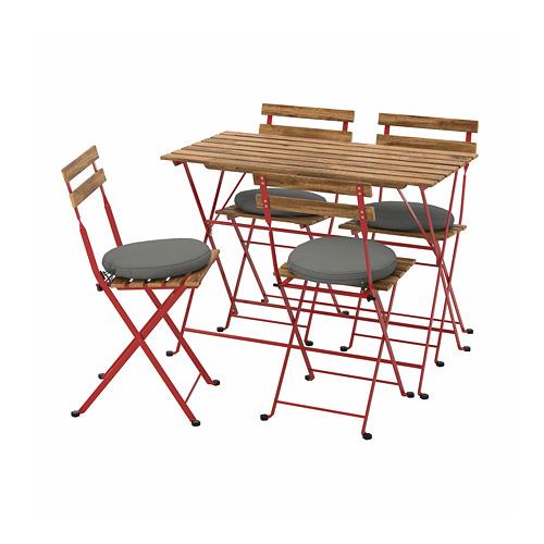 TÄRNÖ table+4 chairs, outdoor