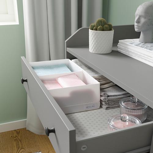STUK - 分格貯物箱, 20x34x10cm, 白色 | IKEA 香港及澳門 - PE798583_S4