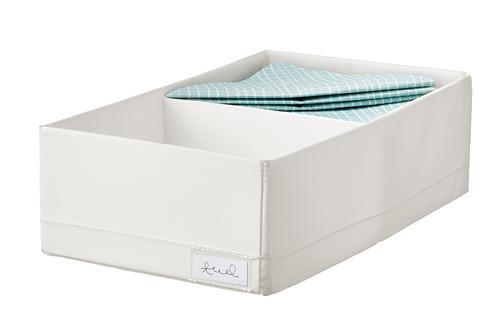 STUK - 分格貯物箱, 20x34x10cm, 白色 | IKEA 香港及澳門 - PE798582_S4