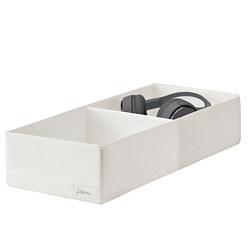 STUK - 分格貯物箱, 20x51x10cm, 白色 | IKEA 香港及澳門 - PE798584_S3