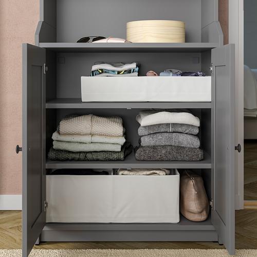 STUK - 分格貯物箱, 34x51x10cm, 白色 | IKEA 香港及澳門 - PE798587_S4