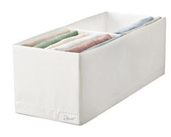 STUK - 分格貯物箱, 20x51x18cm, 白色   IKEA 香港及澳門 - PE798586_S3