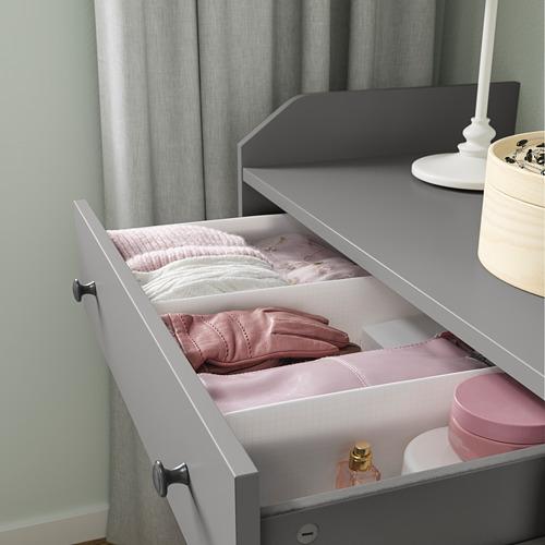 STUK - 分格貯物箱, 34x51x10cm, 白色 | IKEA 香港及澳門 - PE798589_S4