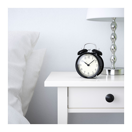 DEKAD - 鬧鐘, 黑色 | IKEA 香港及澳門 - PE597343_S4