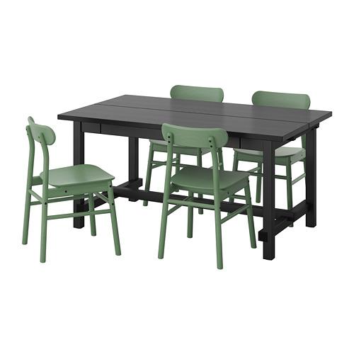 RÖNNINGE/NORDVIKEN table and 4 chairs