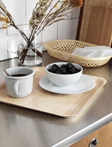 FÖRMEDLA - tray with anti-slip, wood effect | IKEA Hong Kong and Macau - PE744630_S4