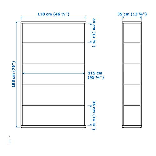FJÄLKINGE - 層架組合, 白色 | IKEA 香港及澳門 - PE656834_S4