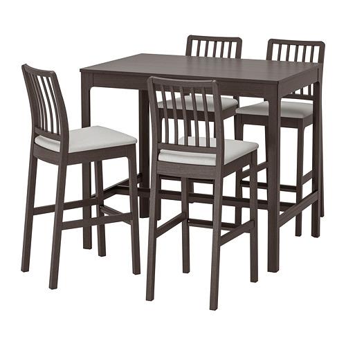 EKEDALEN/EKEDALEN 吧檯連4張高腳凳