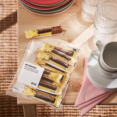 BELÖNING - 牛奶朱古力, 燕麥,焦糖 獲UTZ認證   IKEA 香港及澳門 - PE798646_S4