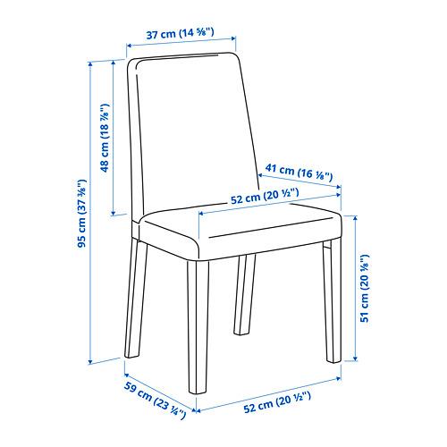 BERGMUND 椅框