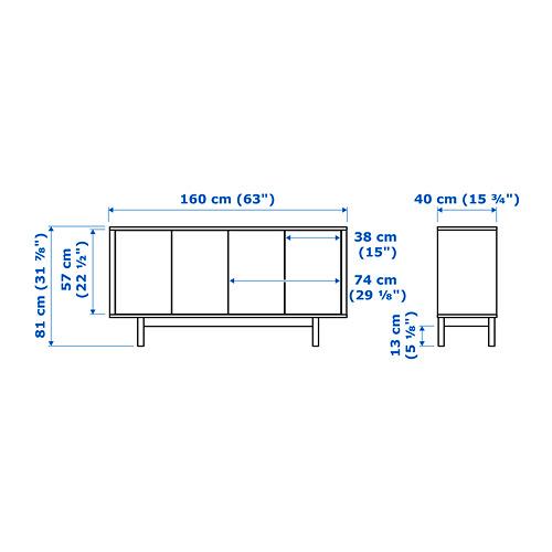 STOCKHOLM - sideboard, walnut veneer | IKEA Hong Kong and Macau - PE656962_S4