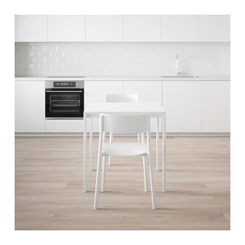 MELLTORP/JANINGE - table and 2 chairs, white/white | IKEA Hong Kong and Macau - PE656964_S4