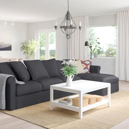 GRÖNLID - 四座位梳化, 連躺椅/Sporda 深灰色   IKEA 香港及澳門 - PE744751_S4